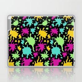 Colorful Paint Splatter Pattern Laptop & iPad Skin