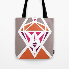 Five Triangle Faces - The Lady Tote Bag