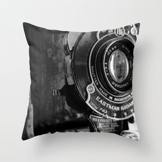 anastigmat Throw Pillow