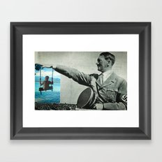 Scream if you want to go faster. Framed Art Print