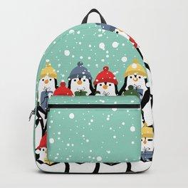Christmas penguins Backpack
