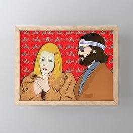 MARGOT AND RICHIE Framed Mini Art Print