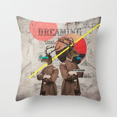 Animal Collection -- The Guardians Throw Pillow