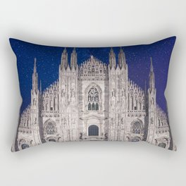 Under the starlit sky Rectangular Pillow