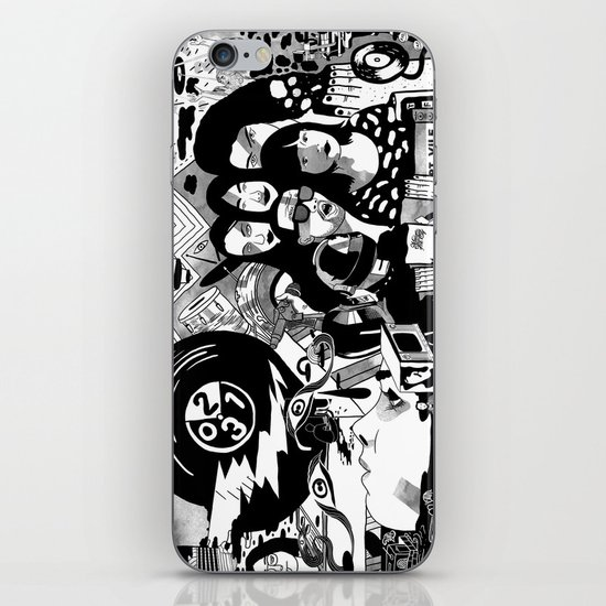 Sound & Vision: 2013 in Music by Steven Fiche iPhone & iPod Skin
