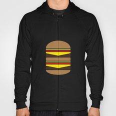 Burger Illustration Hoody