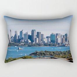 Sydney Skyline Rectangular Pillow
