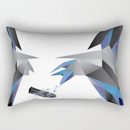 try harder! Rectangular Pillow