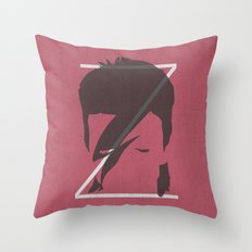 Z is for Ziggy Throw Pillow
