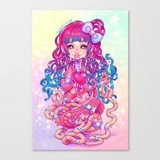 Cute Penanggalan Canvas Print