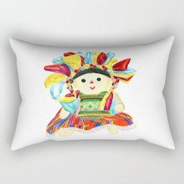 Mexican doll Rectangular Pillow