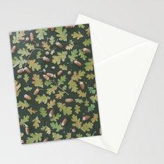 Oak pattern Stationery Cards
