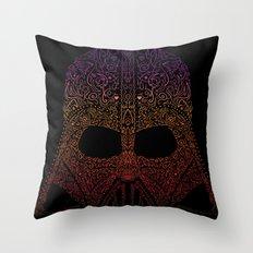 Darth Neon Trooper Throw Pillow