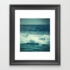 The Sea II. (Sea Monster) Framed Art Print
