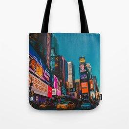 City Lights NYC (Color) Tote Bag