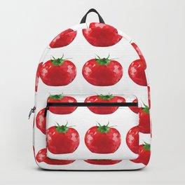 tomato pattern grid, fill, repeating, tiled | elegant Backpack