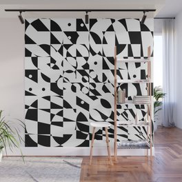 Fractured Structure Wall Mural