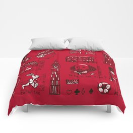 English pattern Comforters