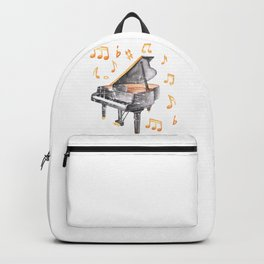 Grand Piano Melody Backpack