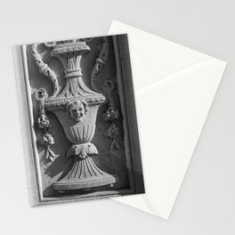 New York Ornate Carving Stationery Cards