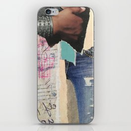 Ripped Jeans iPhone Skin