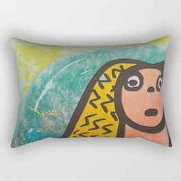 Atlantis Icon Rectangular Pillow