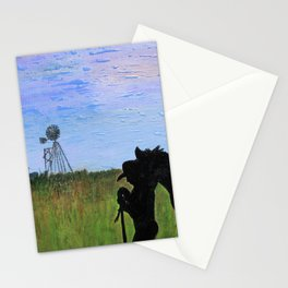 Always That One Horse Stationery Cards