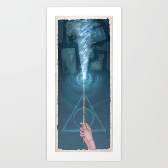 Hermione's Obliviate Art Print