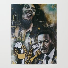 No racism but one Love Poster