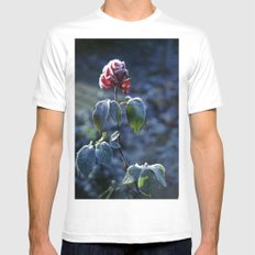 Frosted Rose Mens Fitted Tee White MEDIUM