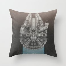 Millennium Falcon (Re-Release) Throw Pillow