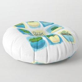 Petite Plant Posse Floor Pillow