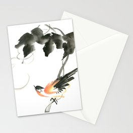 Bird 3- Chinese Shui-mo (水墨) Stationery Cards