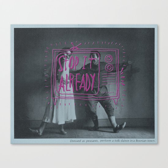 Get a Hobby Canvas Print