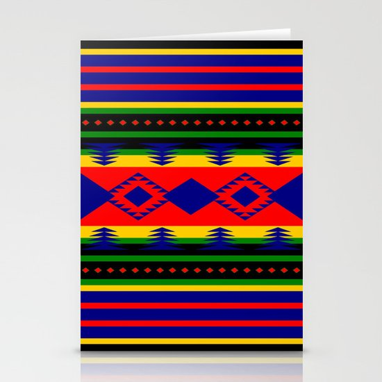 Aztec Summer Stationery Cards