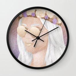 Hippie Girl Wall Clock