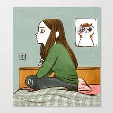 Teen Angst Canvas Print