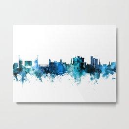 Fayetteville Arkansas Skyline Metal Print