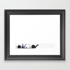 V12 LMR Framed Art Print