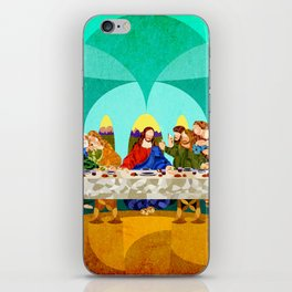Curves - Last Supper iPhone Skin