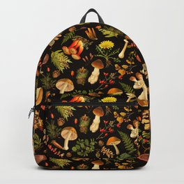 Vintage & Shabby Chic - Autumn Harvest Black Backpack