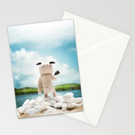 """Melodías de Arena"" Stationery Cards"