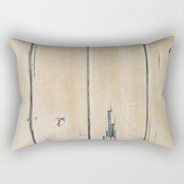 Old Painted Wall Rectangular Pillow