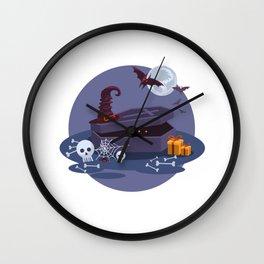 Halloween. Vol 4 Wall Clock