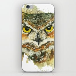 Owl's Gaze iPhone Skin