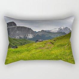 Alpine view (Italy) Rectangular Pillow