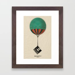 Gymnopedie No.1 - Erik Satie Framed Art Print