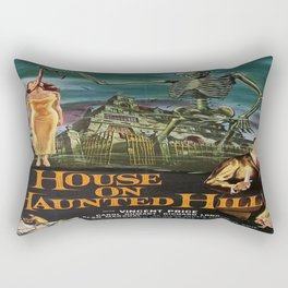 Vintage poster - House on Haunted Hill Rectangular Pillow