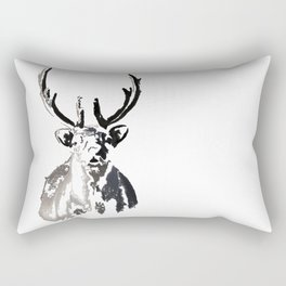 High arctic reindeer Rectangular Pillow