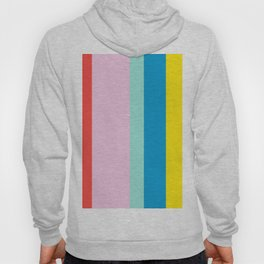 the color of summer stripes Hoody